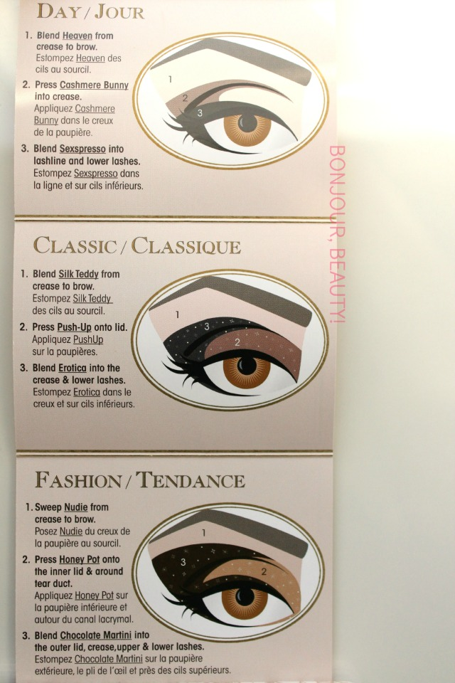 Too Faced Natural Eye Neutral Eye Shadow Collection Card